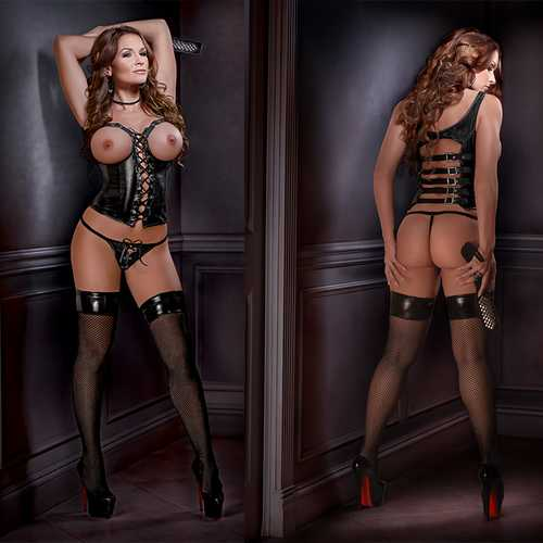 Lust Fetish Harlot S/M Black