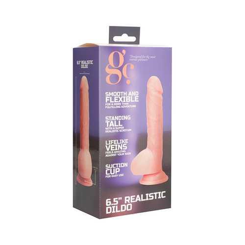 GC 6.5 Inch Realistic Dildo - Flesh