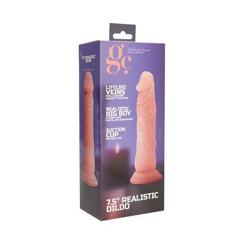 GC 7.5 Inch Realistic Dildo - Flesh