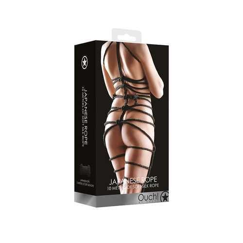 Ouch! Japanese Rope 10 Meter - Black