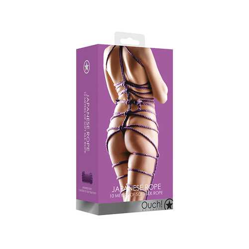 Ouch! Japanese Rope 10 Meter - Purple
