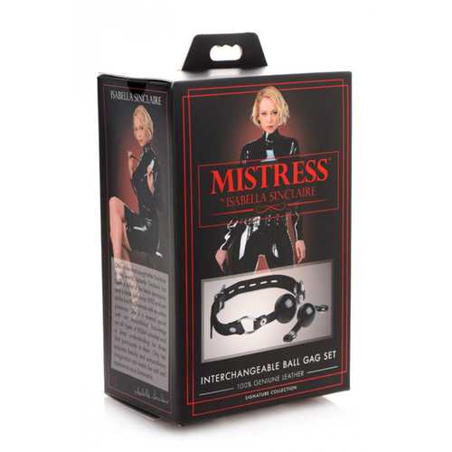 Mistress Interchangeable Ball Gag Set