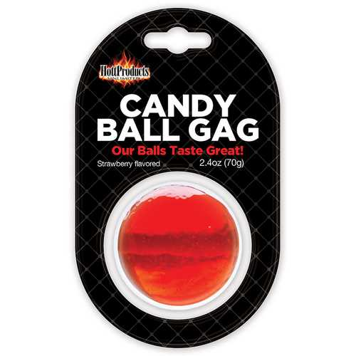 Candy Ball Gag Strawberry