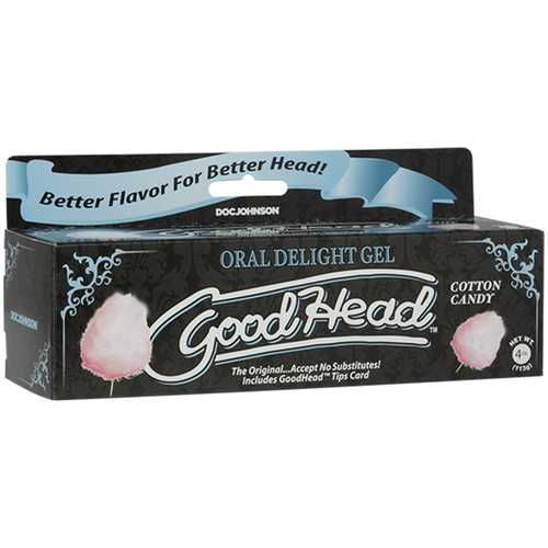 GoodHead Oral Delight Gel 4oz Cttn Candy