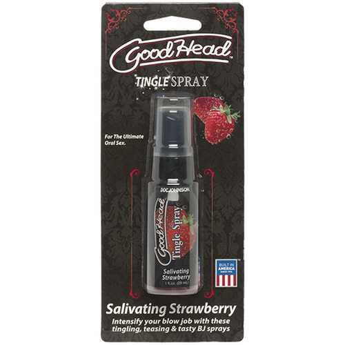 GoodHead Tingle Spray 1oz Strawberry