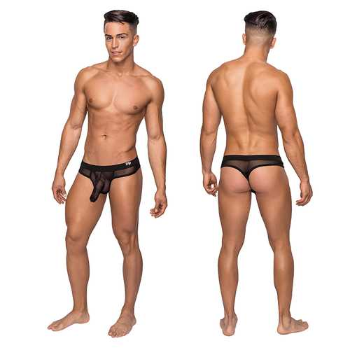 MP Hoser Hose Thong Black S/M