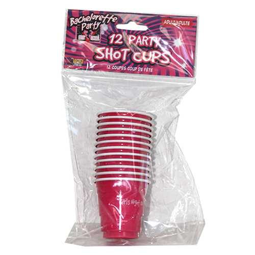 Bachelorette Party Shot Glasses (12/Pk)