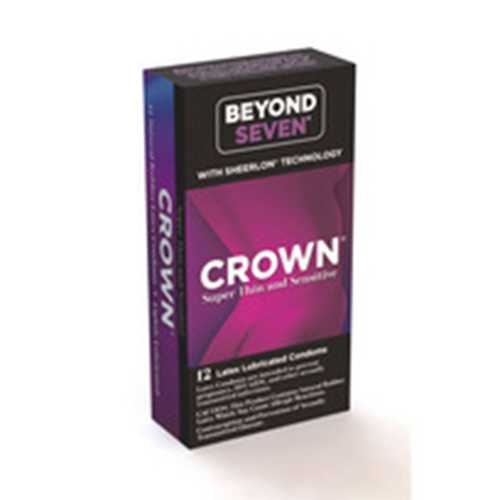 Crown Lubricated 12pk