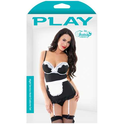 Play Night Service Maid Costume Set S/M