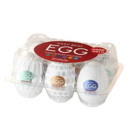 Tenga EGG Variety Pack Hard Boiled