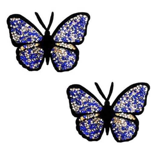 Neva Nude Reusable Pasty Butterfly Jewel