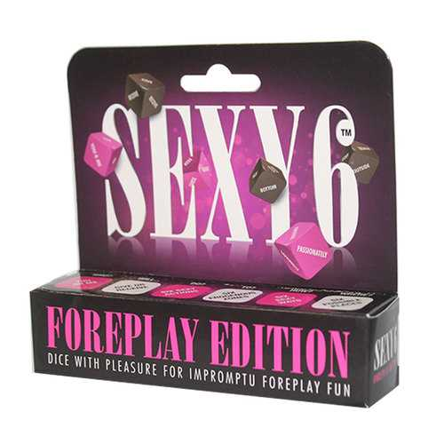 Sexy 6 Dice Game Foreplay Edition
