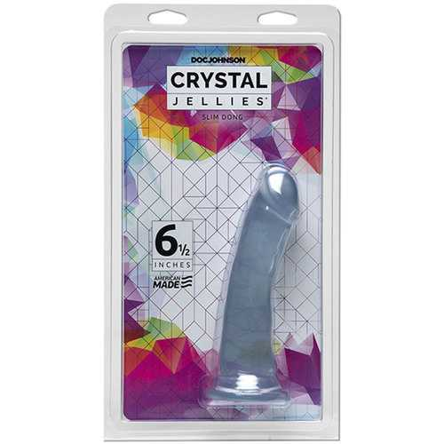 Crystal Jellies 6.5in Slim Dong Clear