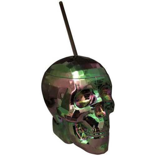 Oil Slick Skull Cup
