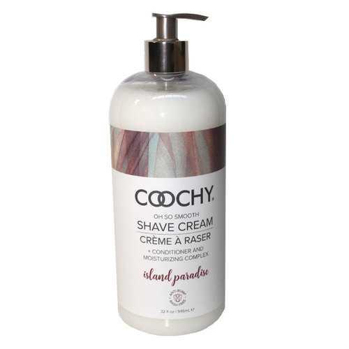 Coochy Shave Cream Island Paradise 32oz