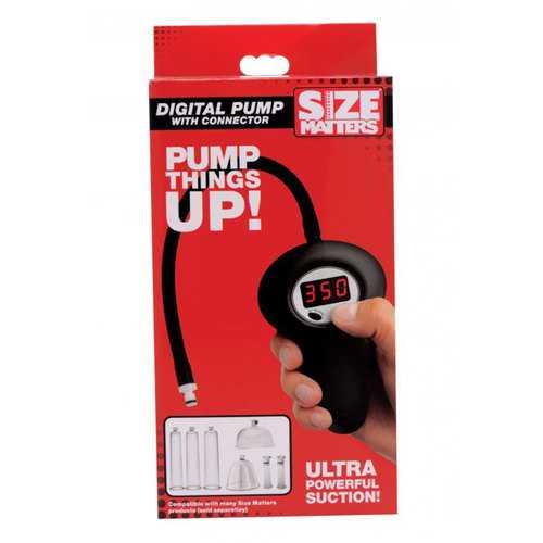 Size Matters Digital Pump w/Connector