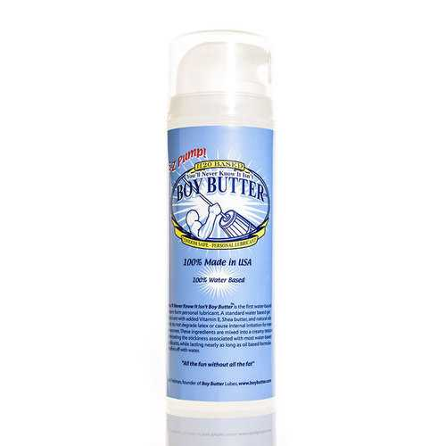 Boy Butter H2O 5oz Pump