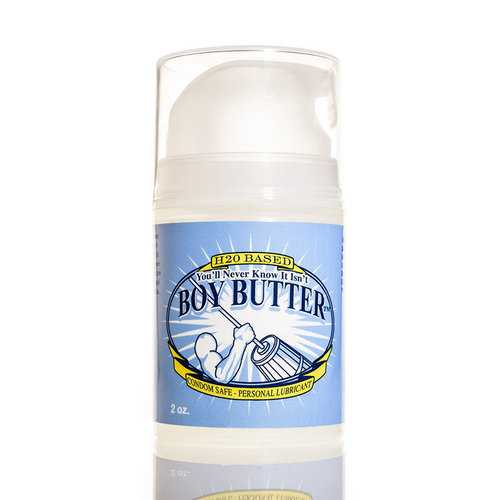 Boy Butter H2O 2oz Pump