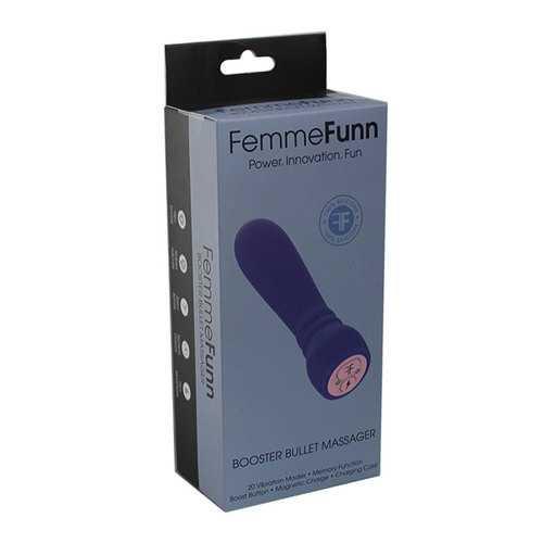 FemmeFunn Booster Bullet 20f Purple