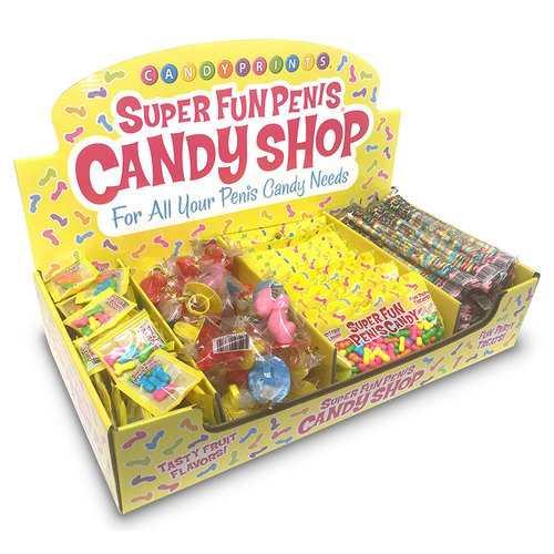 Super Fun Penis Candy Shop