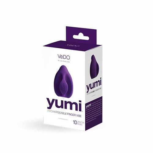 VeDO Yumi Rechg Finger Vibe Deep Purple
