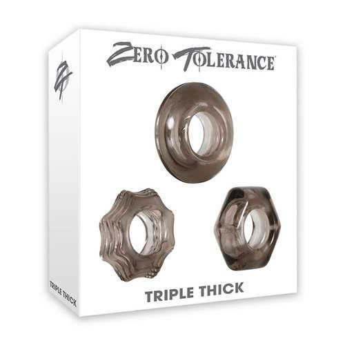 ZT Triple Thick Cock Ring Set of 3