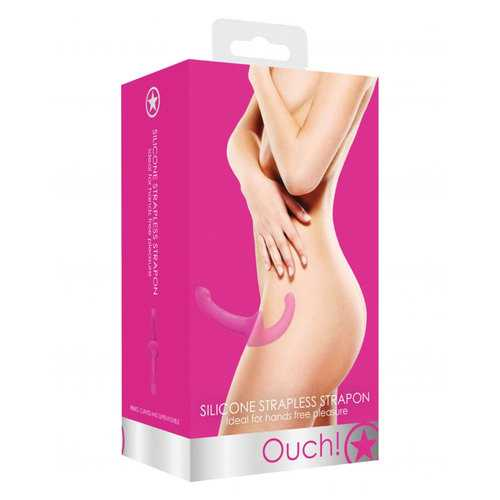 Ouch! Silicone Strapless Strapon - Pink