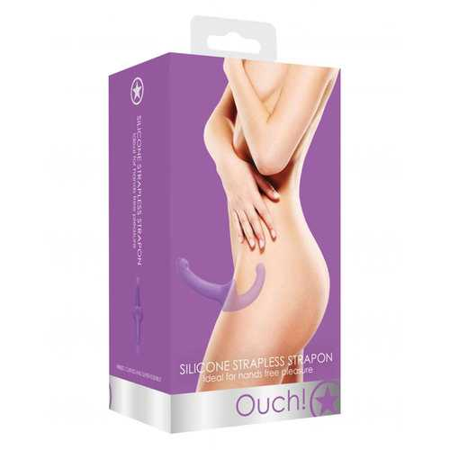 Ouch! Silicone Strapless Strapon - Purp