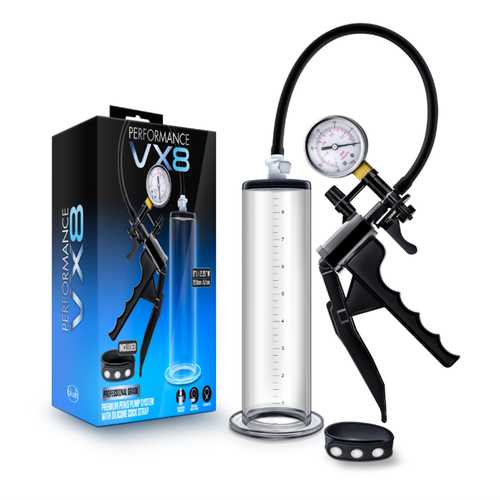Performance - VX8 Premium Penis Pump Clr