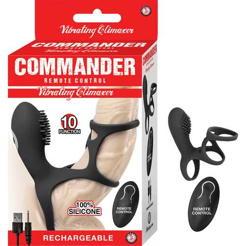 Commander RC Vibrating Climaxer Black
