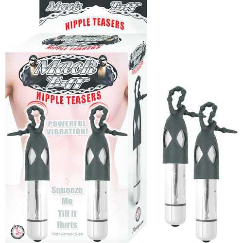 Mack Tuff Nipple Teasers Silver/Black