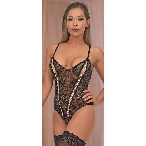 MS Bewitching Cheeky Teddy Black SM