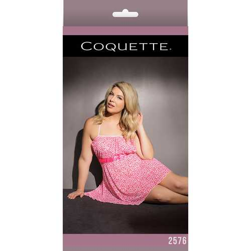 Baby Doll Pink/White XL