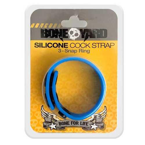 Boneyard Cock Strap Blue