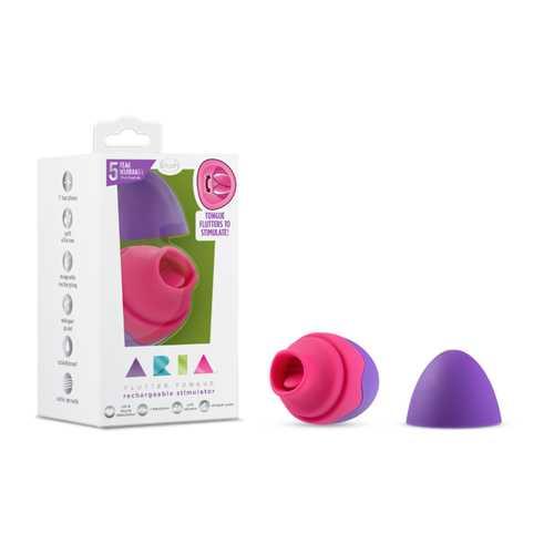 Aria - Flutter Tongue - Purple