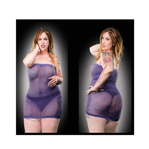 All Over Mesh Curvy Sizes