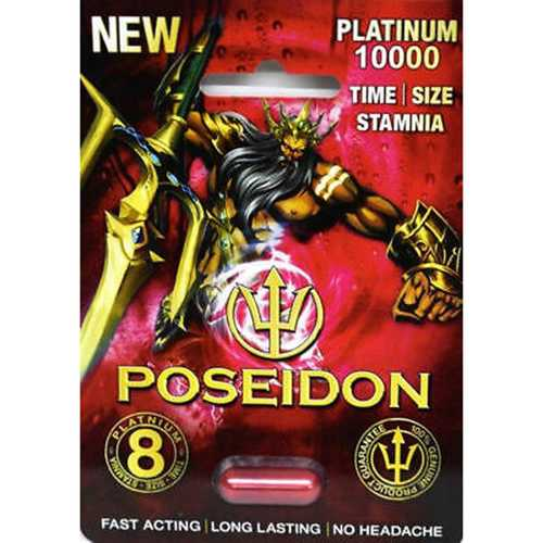 Poseidon Platinum 10000 1Pk(25/Dp)Red BX