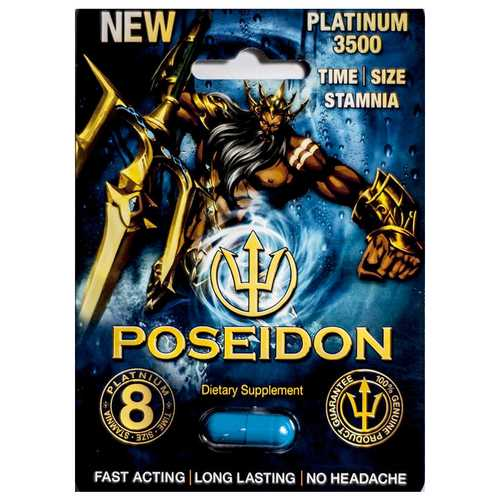 Poseidon Supplement Platinum 1Pk Open St