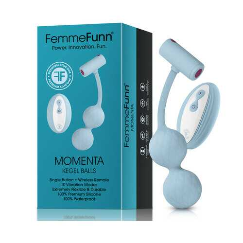 Femmefunn Momenta Kegel Balls Light Blue