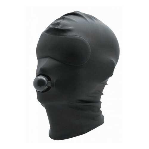 Black Spandex Hood W/Silicone Ball Gag