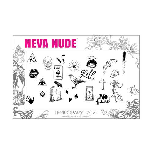 Neva Nude Temporary Tatz Images