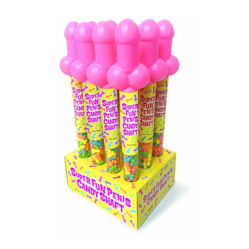 Super Fun Penis Candy Shaft 12pc Display