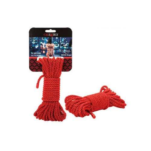 Scandal BDSM Rope 10m - Red