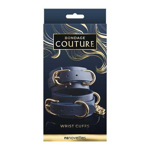 Bondage Couture Wrist Cuff Blue