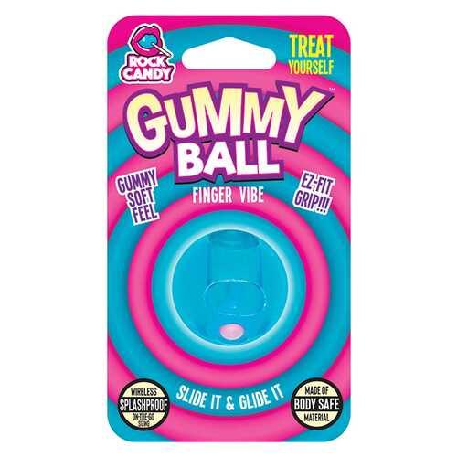 GUMMY BALL  - BLISTER  - BLUE