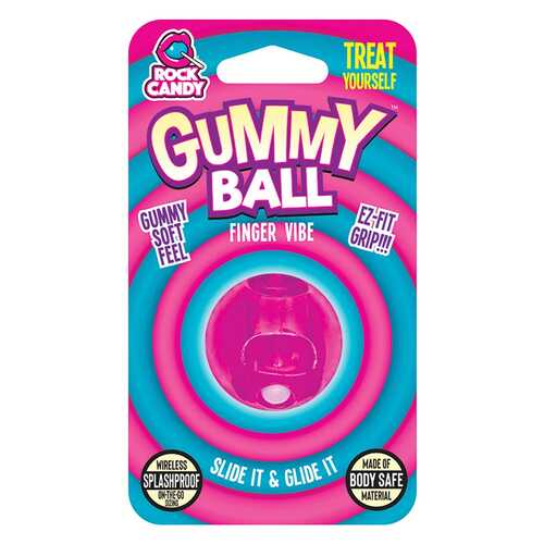 GUMMY BALL  - BLISTER  - PINK