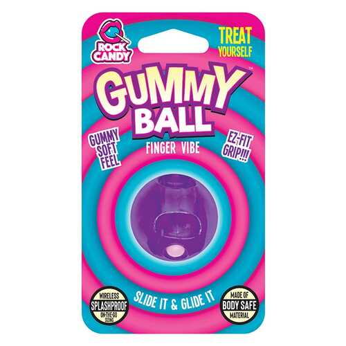 GUMMY BALL  - BLISTER  - PURPLE