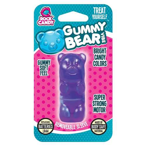 GUMMY BEAR VIBE - BLISTER  - PURPLE