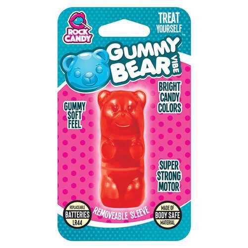 GUMMY BEAR VIBE - BLISTER  -  RED