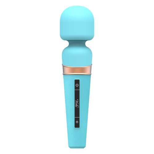 Titan Touch Panel Wand Massager Blue